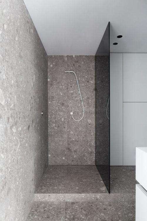 Bathroom - Residence in Knesselare Belgium by SAAI Architecten