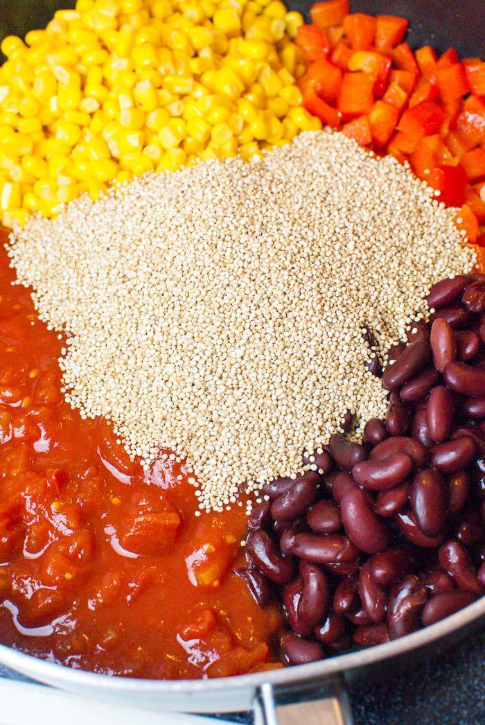 best 25 quinoa salat rezepte ideas on pinterest salat quinoa vegan quinoa rezepte vegan and. Black Bedroom Furniture Sets. Home Design Ideas