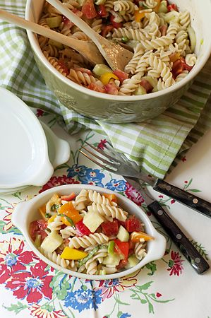 Summertime Pasta Salad | Never Enough Thyme - Recipes and food photographs