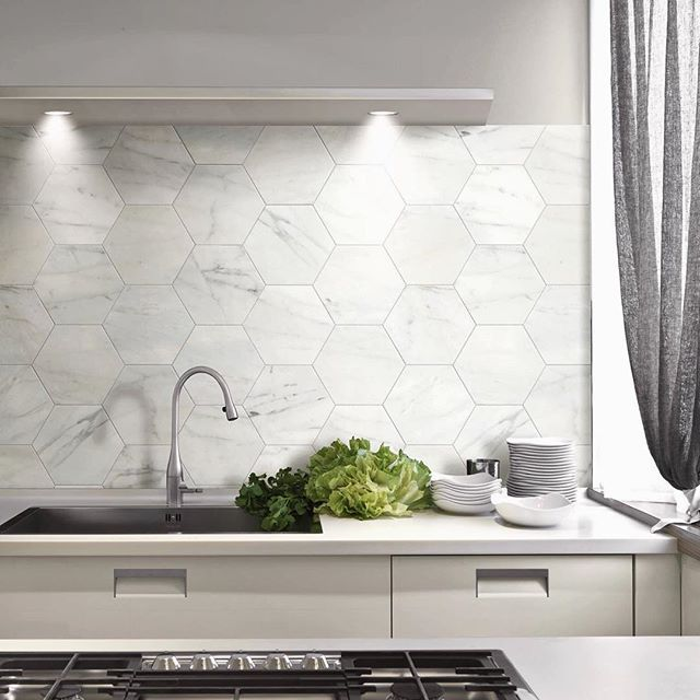 Black And White Peel And Stick Backsplash