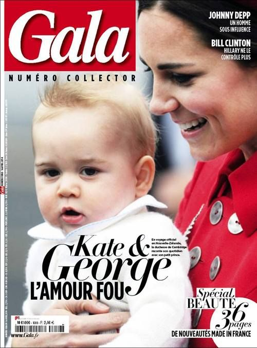 Gala France cover by Mark Stewart .... Kate and George