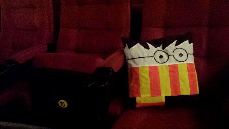 "Подушка Гарри Поттер, подушка, Гарри Поттер, игрушка ручной работы,handmade, ""принцесса Надя"""
