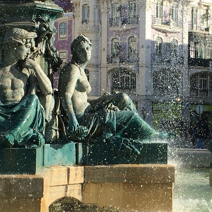Rossio Square! Perfect starting point to discover the city center! www.visitlisboa.com