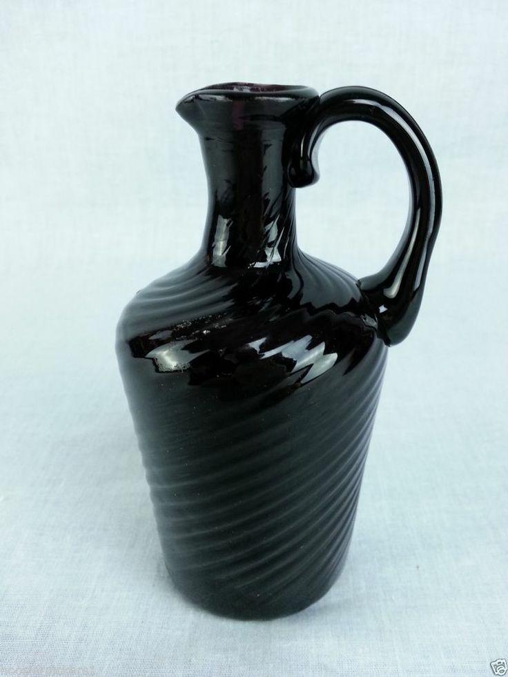 Black And White Glass Vase Ebay