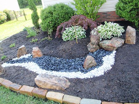 10 Best Images About Front Yard On Pinterest River Rock