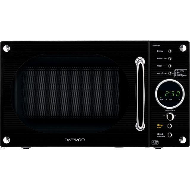 KOR8A9RB_BK | Daewoo microwave | black | ao.com