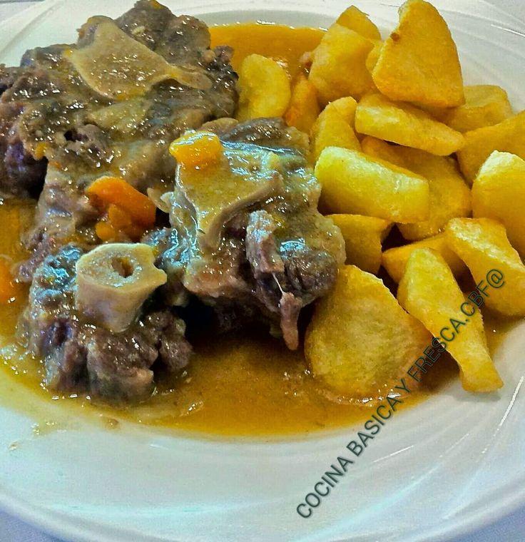 Cocina Casera y Rapida: ESTOFADO DE RABO DE TERNERA CBF@