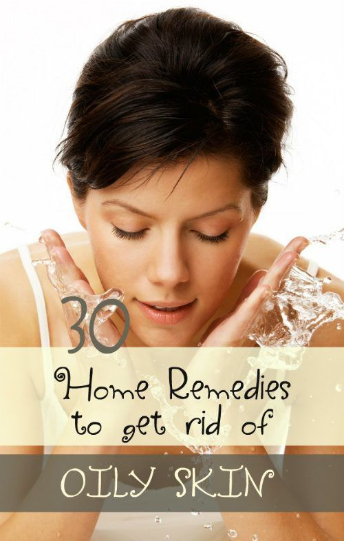Naturally made home remedies using lemon, baking soda, gram flour are also effective to get rid of greasy face