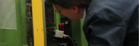 Installation einer IR Kamera zur Qualitätssicherung beim Spritzgießen!