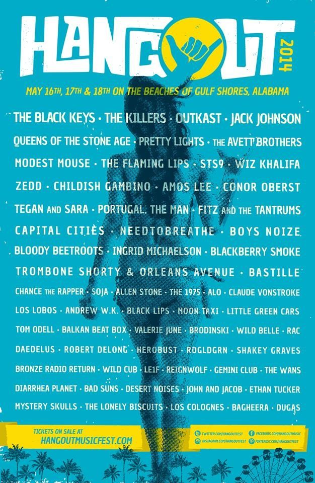 Hangout Music Festival - 5th Year for this great festival on the beach in Gulf Shores, AL - My 2nd home !