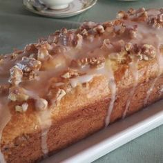 Budín de Naranja y Nuez - Sin Gluten - Sin Lactosa - Celíacos