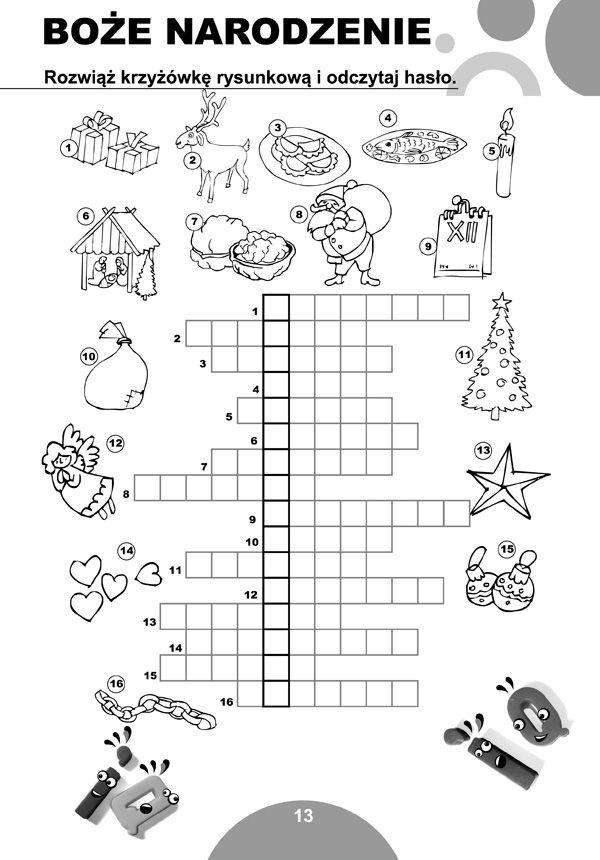 Krzyżówki dla dzieci 7-12 lat edukacyjne NOWOŚĆ - 3515283209 - oficjalne archiwum allegro