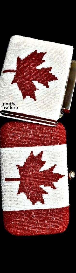 ❇Téa Tosh❇ Ottawa designer Nina Saab purses. The one on the top was worn by Laureen Harper on Canada Day.