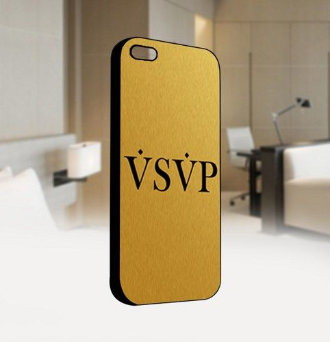 VSVP Asap Rocky Drake Trill Gold - For IPhone 4 or 4S Black Case Cover