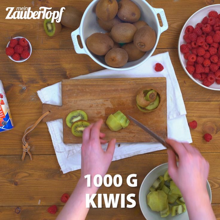 Kiwi raspberry spread from the Thermomix®