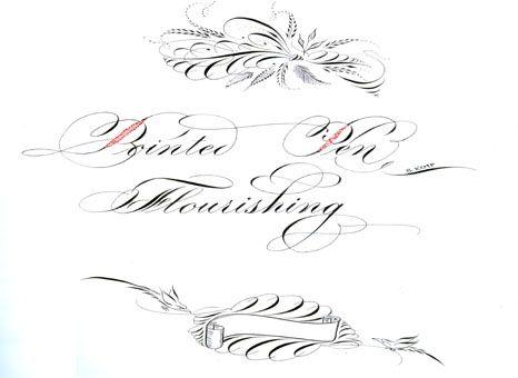 Calligrapher Bill Kemp Flourishes Fine Penmanship
