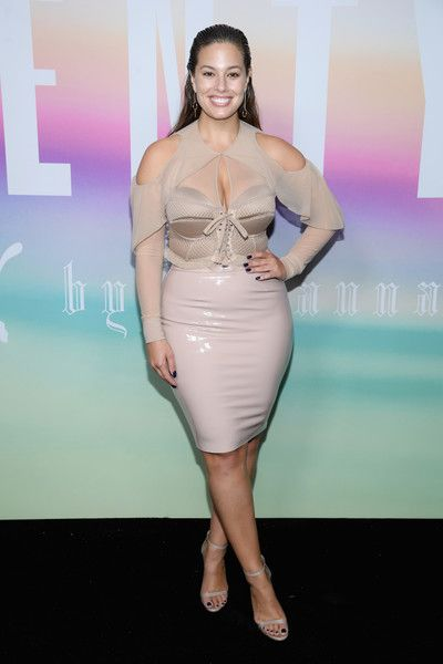 Ashley Graham Photos - Ashley Graham attends the FENTY PUMA by Rihanna Spring/Summer 2018 Collection at Park Avenue Armory on September 10, 2017 in New York City. - FENTY PUMA by Rihanna Spring/Summer 2018 Collection - Front Row + Arrivals