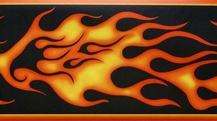 HarleyDavidson Flames HARLEYDAVIDSON FLAMES WALLPAPER