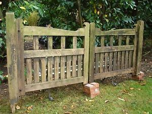 wooden driveway gates for sale | wooden driveway and pedestrian gates | eBay