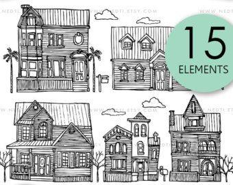 Windows Doodle clipart Clipart fenêtre Images numériques par Nedti