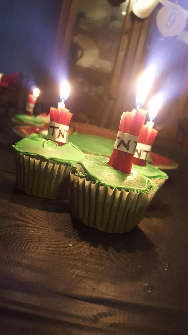 Cake Decorations For Cupcakes : 25+ unique Minecraft cupcakes ideas on Pinterest ...