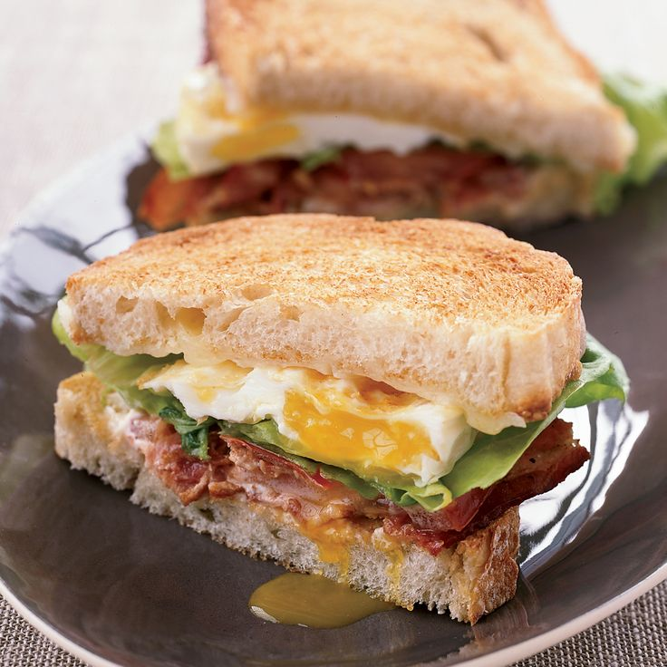 Thomas Keller's scrumptious BLT Fried Egg-and-Cheese Sandwich is over-the-top in the best way: It adds a runny fried egg to a BLT and grilled cheese hybrid.