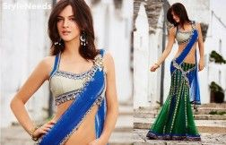 http://styleneeds.in/product/unique-charm-blue-green-saree