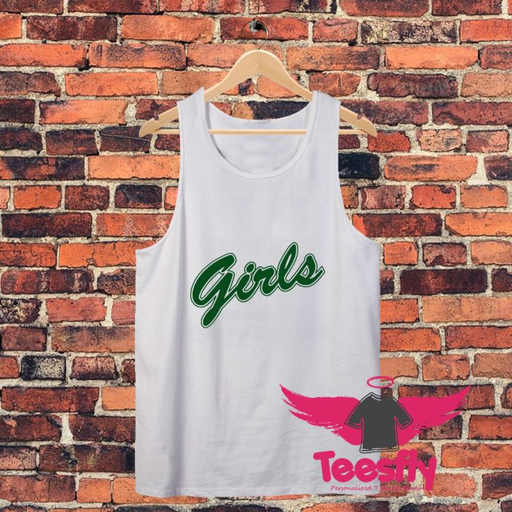 Friends Tv Show Girls Green Personalized Tank Tops Cheap //Price: $17.00     #clothing