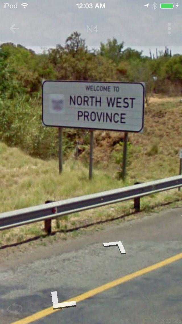 North West, South Africa: N4 Westbound towards Marikana and Rustenburg, near Ga-Rankuwa, Gauteng
