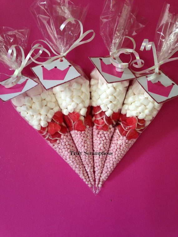 Princess sweetie cones by Favourfantastic on Etsy