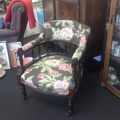 Client reupholstered chair - ReVamp Vintage