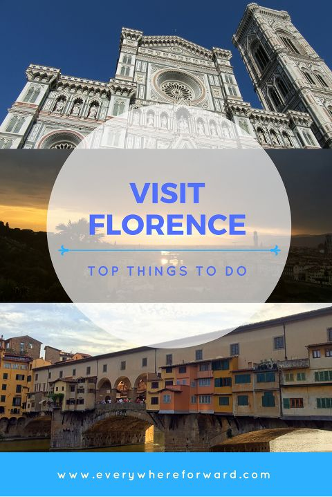 A guide to the top things to do in Florence Italy. Includes the highlights of Florence