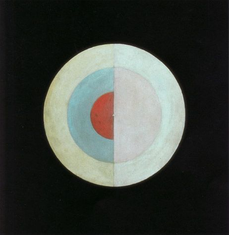 Hilma af Klint (1862-1944, Sweden) - The Swan (No. 16), 1914 -  a Swedish artist and mystic whose paintings were amongst the first abstract art.