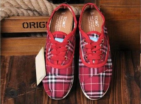 Cordones Cheap Toms Shoes Men Plaid in Dark Red : toms outlet online,toms shoes sale, welcome to toms outlet,toms outlet online,toms shoes outlet,toms shoes sale$17
