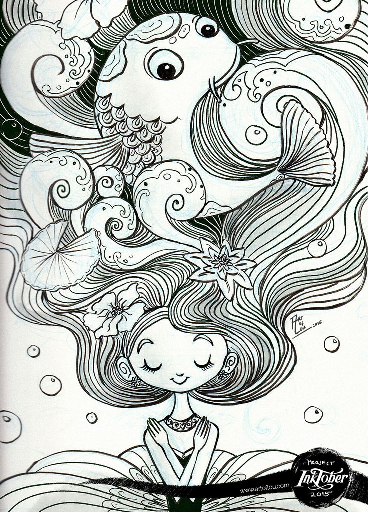 My submissions to this year's Inktober movement (2015). 31 song title-inspired ink drawings in children's book illustration style.