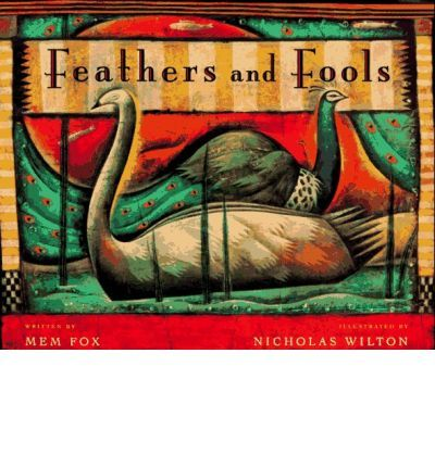 """Good book for teaching Questioning strategy- K-3. Long ago and far away, in a rambling garden beside a clear blue lake, two flocks of birds began to fear each other for their differences. Their fear grew, and soon the birds became enemies, hoarding great quantities of weapons to protect themselves--until panic struck and the chance for peace seemed lost forever. This haunting modern fable reminds readers that with each generation there is renewed hope for understanding and lasting peace. """""""