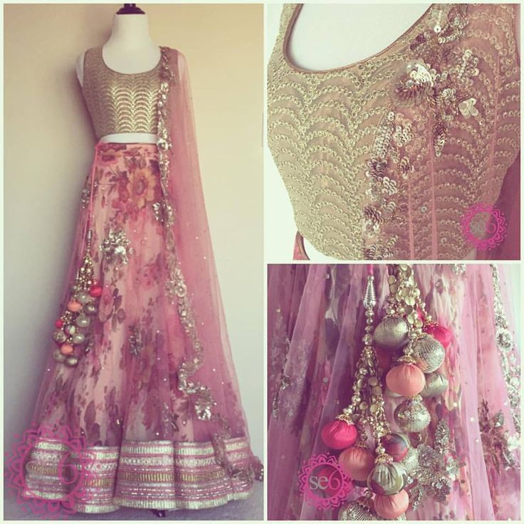 A custom designed Studio East6 #lehenga made for a very, special client in New York! This vintage floral lehenga can be ordered & customized in any color Email: sales@studioeast6.com #studioeast6 #chicago #indianstyle -#indianfusion #indianbridal #indianrunway #indianbride #lengha #vintage #floral