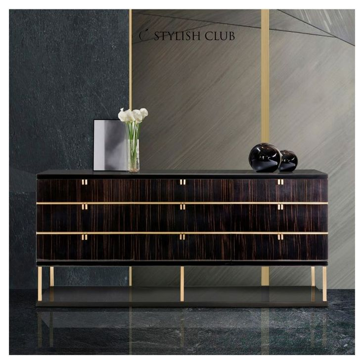 This month we started sharing our new photos of the collection which represents how the furniture piece can look in different interior spaces.Interior design is a wide world in which different styles can be found and at the same time can be combined. So today we show you how Manhattan chest of drawers can look in an elegant space like this!  For more, visit our website:  ☛ stylishclub.pt