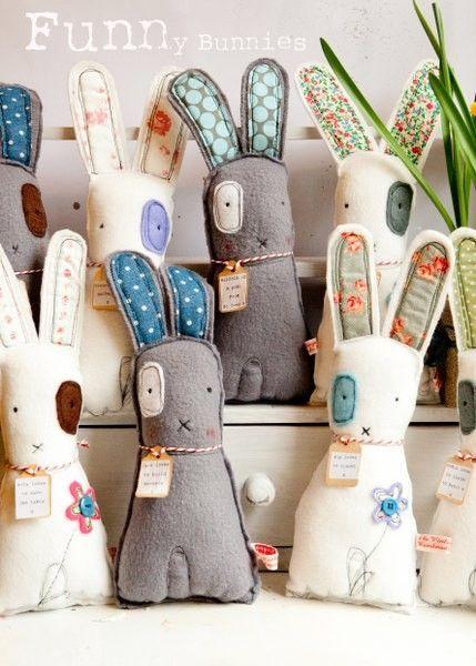 bunnies by deanne