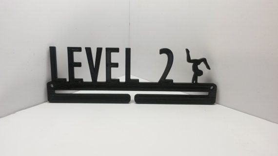 Level 2 Gymnastics Gymnast Sports Medal Display Medal Rack