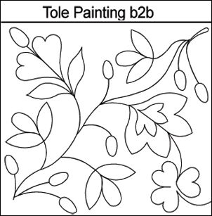 tole paint pattern
