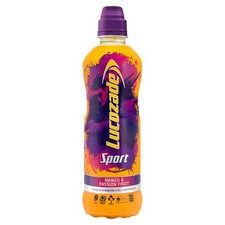 Lucozade Sport Mango And Passion Fruit 500Ml Bottle
