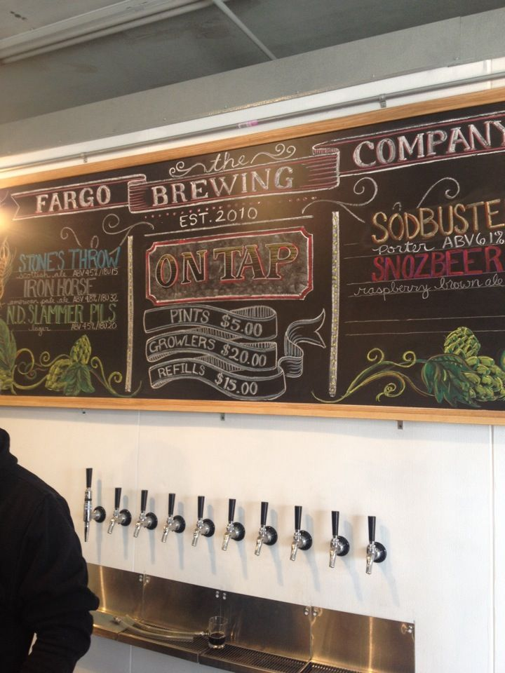 Fargo's first brewery was finally able to start actually brewing in ND and open a tap room this year! A fun place to hang out.