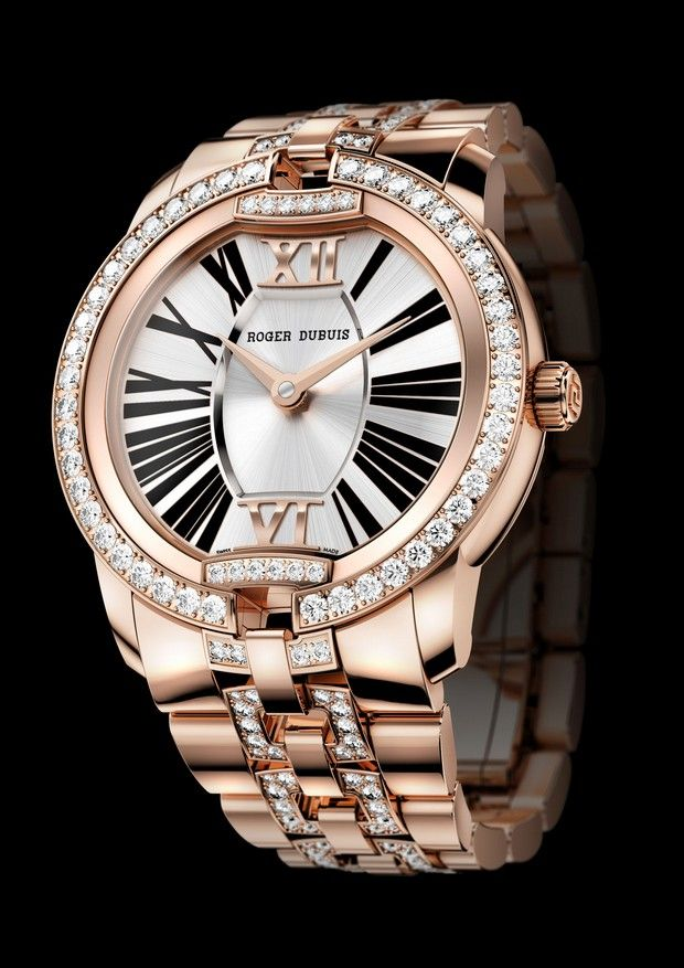 Upscale Watches for Women | Spectacular Ladies' Luxury Watch: The Roger Dubuis Velvet