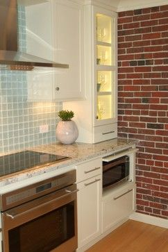 Luxe Lewis Wharf Kitchen - beach-style - Kitchen - Boston - Kitchen & Bath Details