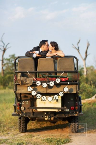 Adventurous safari wedding in South Africa: http://www.stylemepretty.com/2014/07/23/adventurous-safari-wedding-in-south-africa/ | Photography: http://christianothstudio.com/