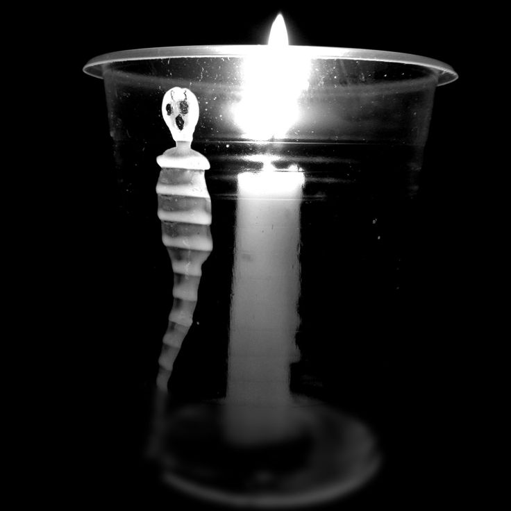 Taken By Me . Candle