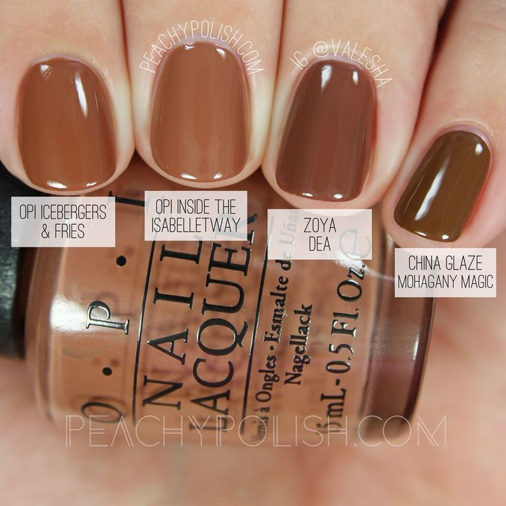 OPI Inside The Isabelletway   Washington D.C. Collection Comparisons   Peachy…