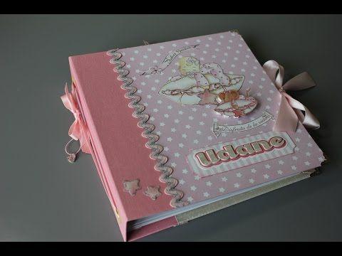 Álbum de fotos bebé niño ( Dayka - First Edition) - Scrapbooking - YouTube