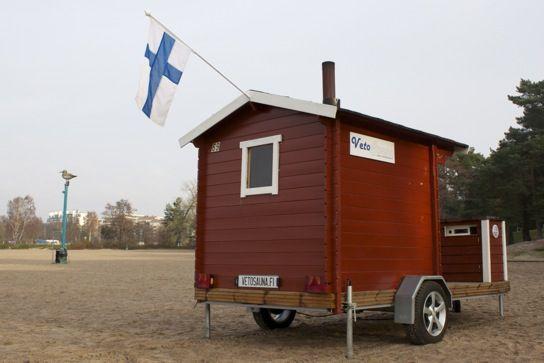 sauna, mobile sauna